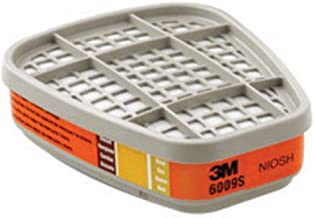 3M Orange Mercury Vapor/Chlorine/Sulfur Dioxide Gas PK2 Chemical Cartridge (For Use With 3M Half And Full Facepieces 6000, 7000 And FF-400 Series With Bayonet Filter Holders)