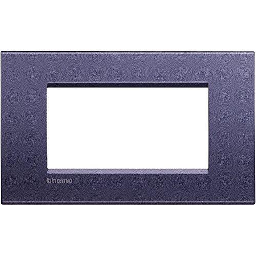 BTicino LivingLight Plaque, 4 modules, multicolore, multicolore, LNA4804CB