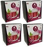 Cápsulas compatibles dolce gusto te frutas del bosque 64 bebidas