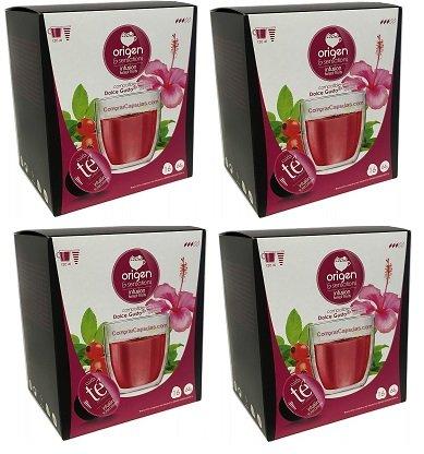 Capsulas Compatibles Dolce Gusto Te Frutas del Bosque 64 Bebidas