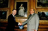 Mohamed Al Fayed with Lloyd. Vintage Press Photo