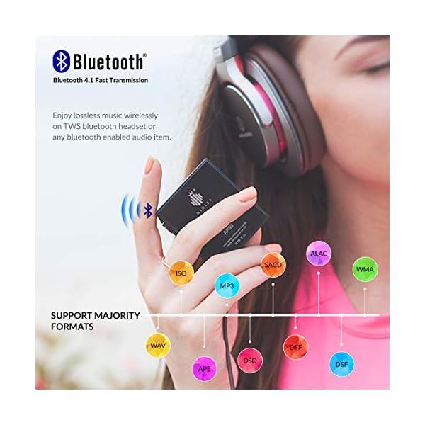 Ultraportable HiFi Music Player Bluetooth MP3 Player High Resolution Audio Player 5