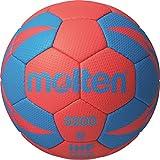 Molten h3 Ballon de Handball 2 Multicolore - Rouge/Bleu