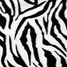 "Barcelonetta   Fleece Fabric   2 Yards   72""X60"" Inch   Polar Fleece   Soft, Anti-Pill   Throw, Blanket, Poncho, Pillow Cover, PJ Pants, Booties, Eye Mask (Zebra B&W, 2 Yards)"