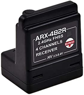 ARX-482R 4CH FHSS Internal Antenna Receiver Compatible with FH3/FH4T (ARX-482R)