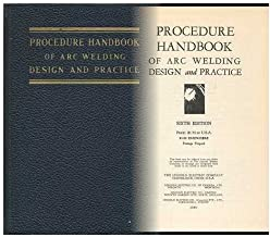 Procedure handbook of arc welding design and practice