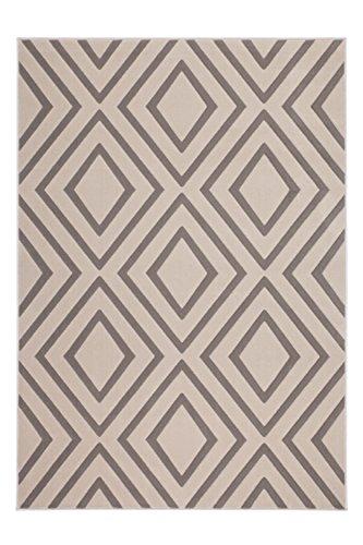 KADIMA DESIGN Tapis Moderne Designer Elina 500 x 150 cm 80 cm Taupe