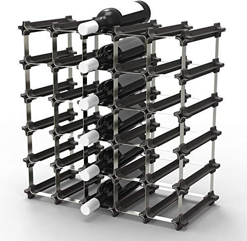 NOOK Weinregal 25er Medium Kit - modulares Regalsystem für Weinflaschen - praktisches Flaschenregal flexibel erweiterbar zur optimalen Lagerung Von Flaschen