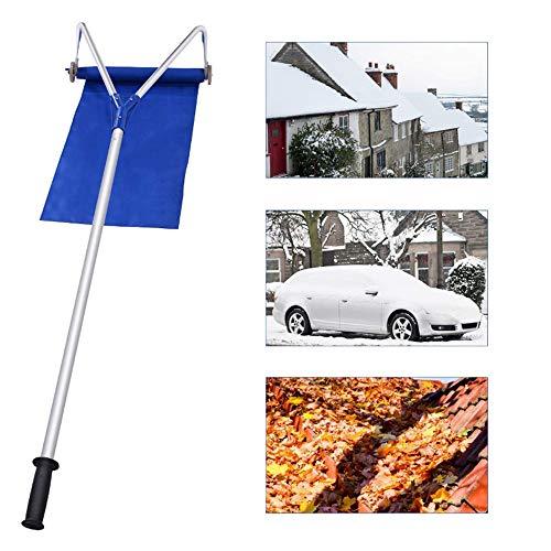 Best Prices! ZSTY Roof Snow Shovel, Roof Snow Shovel Telescopic Snow Shovel Long Handle Sleigh Oxfor...