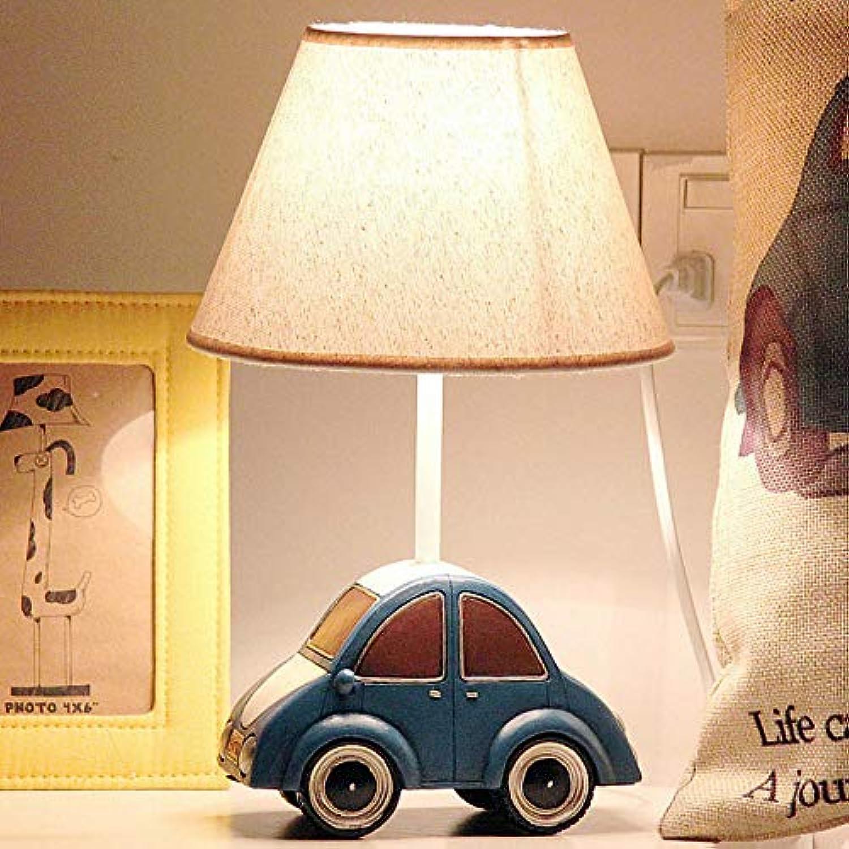 ZHAOHUIFANG Tischlampe, Auto LED Kindertischlampe Schlafzimmer Nachttischlampe Kreative Niedlichen Cartoon Tischlampe, 1-small