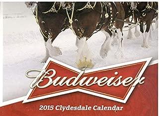 BUDWEISER 2015 CLYDESDALE CALENDAR