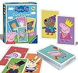 Ravensburger 20346 Peppa Pig-Card Juego para niños de 3 años y Up-Play 4 emocionantes Favoritos Snap, Happy Families, Swap or Pair