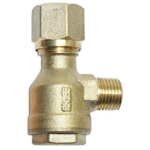 Terugslagklep 1/4-10 mm ventiel drukleiding compressor perslucht