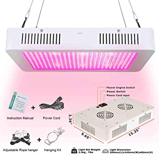 LED Grow Light - 2500W Vander Full Spectrum Led Growing Lamp for Hydroponic Indoor Plants Veg and Flower