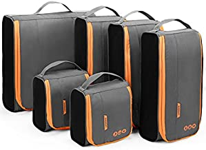 Packing Cubes, BAGSMART Packing Cubes for Suitcases, Lightweight Travel Organizer for Luggage, Suitcase Organizers for Man & Woman