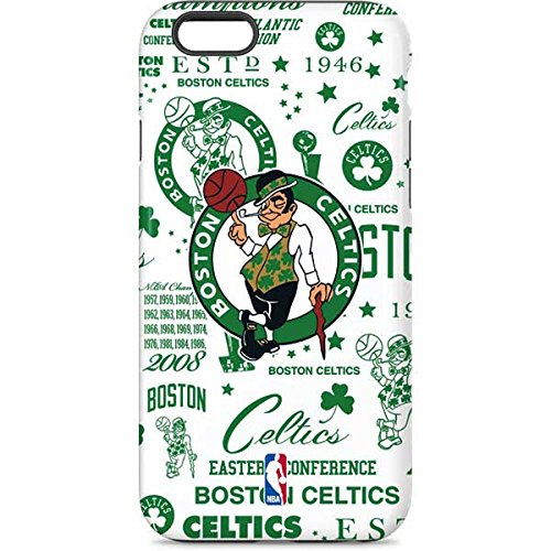 Skinit Pro Phone Case Compatible with iPhone 6 - Officially Licensed NBA Boston Celtics Historic Blast Design
