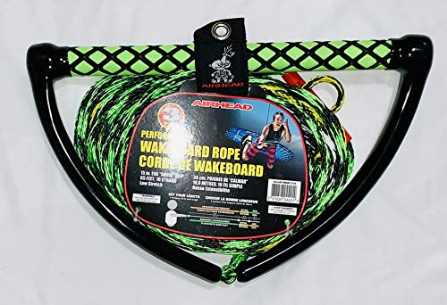 Airhead Wakeboard Rope 15-Inch EVA Handle Wakeboard Ropes and Handles