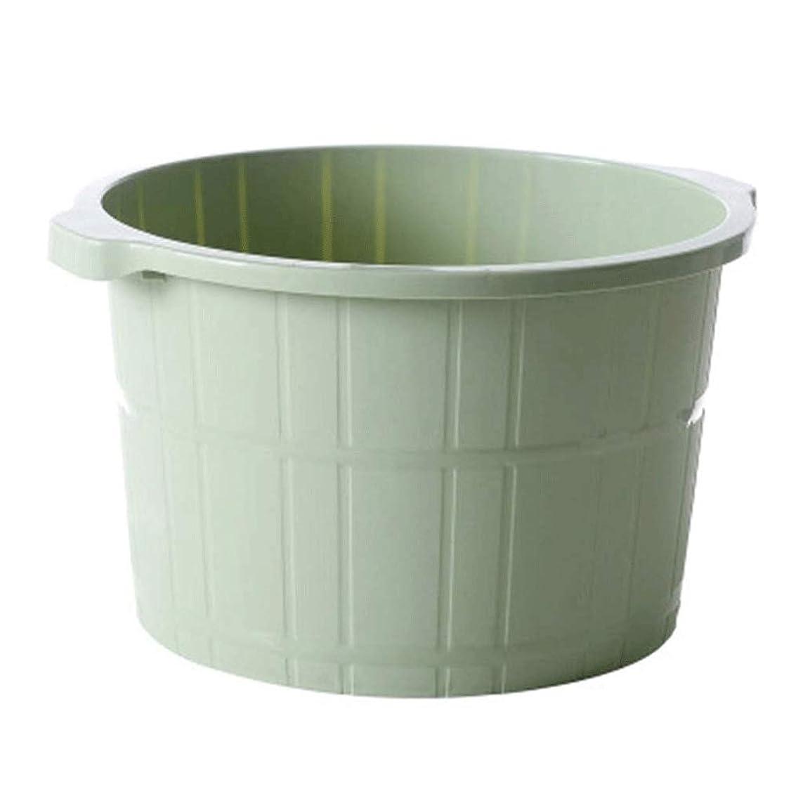 盗難ソブリケット極小TBCML シャープなイメージフットスパ、バブルジェット付き、振動するペディキュアスパ、リラックスできるフットバス、大まかな足のために設計された、最高の結果を実現する暖かい水でいっぱい (Color : Green)