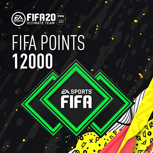FIFA 20 Ultimate Team Points 12000 - [PS4 Digital Code]