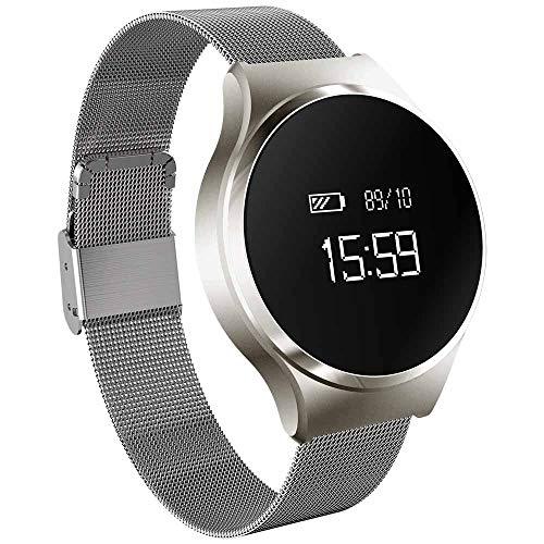 A68 Bluetooth Smart Watch Ing Hartslag-bloeddruk- en slaapmonitor, smartwatch, polshorloge, mannen vrouwen fitnesstracker