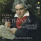 Beethoven Symphonies 1 -9 & Overtures (7SACD)