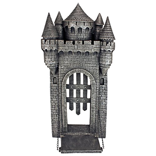 Design Toscano Medieval Castle Gothic Wall Sculpture