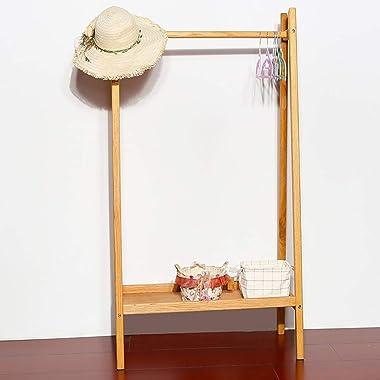 Stand Hall Tree Black Coat Rack Dress Up Storage Compact Garment Rack Kids Costume Organizer Center Open Hanging Hat Hanger H