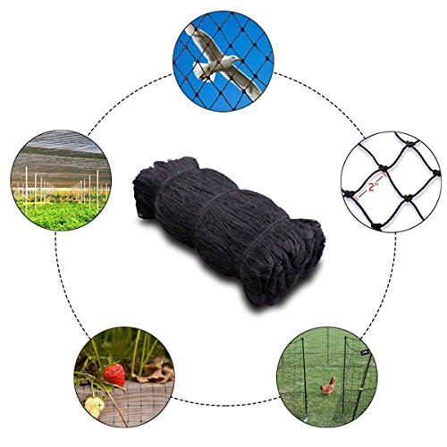LKXHarleya 7.5 * 15M Nylon Anti Oiseau Filet Grand Jardin Arbre Fleur Fruit Protéger Maille Net