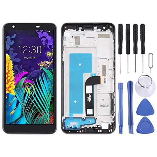 GGAOXINGGAO Pantalla LCD táctil de teléfono móvil Montaje Completo de Pantalla LCD y digitalizador con Marco para LG K30 LM-X320EMW LMX320EMW Accesorios telefónicos