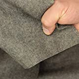 kawenSTOFFE Premium Walkloden Naturfarben Wolle Loden