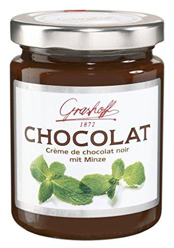 Grashoff - Chocolat 'Crème de chocolat noir mit Minze' - 250 GR