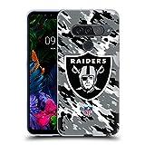 Head Case Designs sous Licence Officielle NFL Camou Oakland Raiders Logo Coque en Gel Doux...