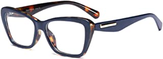 Aiweijia Fashion Retro Female Glasses Square Transparent Lens Reading Glasses