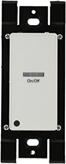 Leviton LVS-1W Low Voltage Pushbutton Station, 1 Button-On/Off, 1 Gang, White
