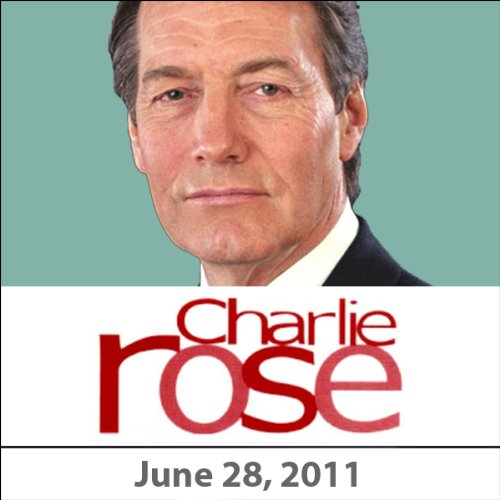Charlie Rose: Tom Coburn and Christine Quinn, June 28, 2011 audiobook cover art