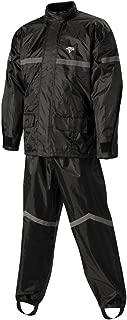 Nelson-Rigg SR-6000-BLK-05-XX Stormrider Rain Suit (Black/Black, XX-Large)