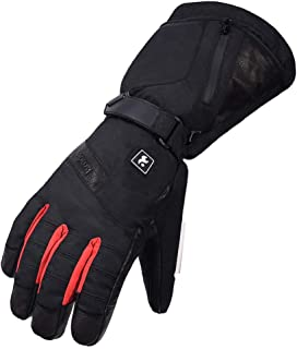 Muranba Electric Heated Gloves Heat Insulated Thermal Adjustable Temperature Hand Warm