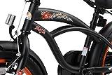 BIKESTAR Kinderfahrrad für Jungen ab 4-5 Jahre | 16 Zoll Kinderrad Cruiser | Fahrrad für Kinder Schwarz (matt) | Risikofrei Testen - 6