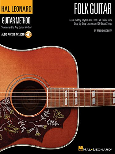 Hal Leonard Folk Guitar Method: Lehrmaterial, CD für Gitarre (Hal Leonard Guitar Method)