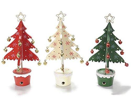 Ideapiu Idea SEGNAPOSTO Natalizio 3, SEGNAPOSTI per Natale, MEMO Clip per LA TAVOLA di Natale