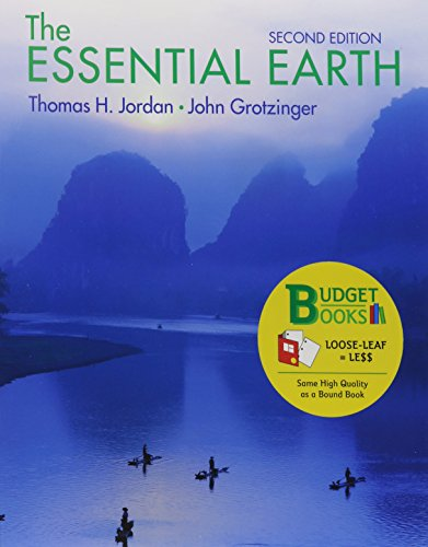 Loose-Leaf Version for Essential Earth (Budget Books)