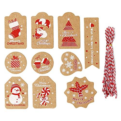 Etiquetas Navidad para Regalos Marca Sikypaota