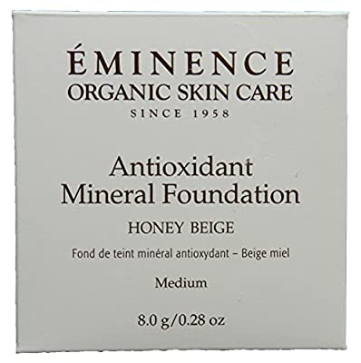 Eminence Honey Beige Antioxidant Mineral Foundation, Medium, 0.28 Ounce