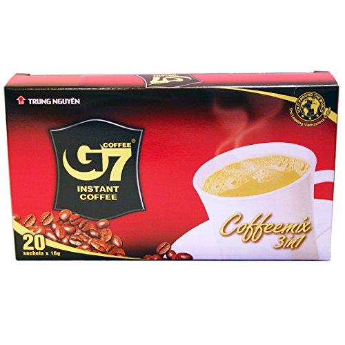 24er Pack (24x320g) Trung Nguyen G7 Instant Kaffeemix 3in1 (Papa Vo®)