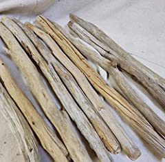 DESIGNED BY TIME: Battered and worn by nature these truly show the beauty of time. QUALITY DRIFTWOOD: 4 Pieces of Driftwood poles approx 3 feet long. Approx 1 inches thick HAND SELECTED: Fresh water Driftwood from Iowa Lakes. Hand Selected, Satisfact...