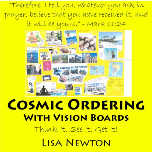 Cosmic Ordering with Vision Boards audiobook cover art