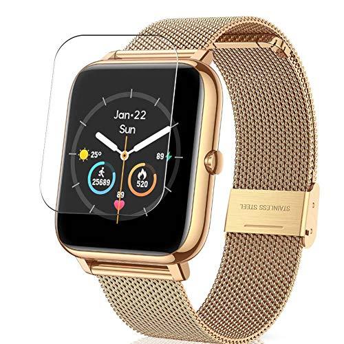Vaxson 3-Pack TPU Pellicola Protettiva, compatibile con CanMixs B85 Smart watch, Screen Protector Film [ Non Vetro Temperato ] Nuova Versione