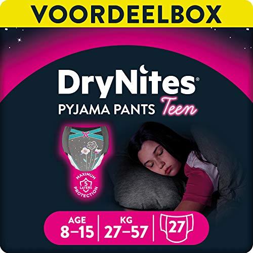DryNites - Braguitas absorbentes - 8-15 años - 9 unidades