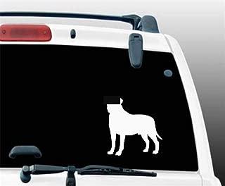 aqeuno Car Decal Car Sticker 9x9.5Cm Bullmastiff Dog Car Sticker Cute Decalbumper Decoration for Car Laptop Window Sticker