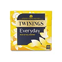 Twinings Everyday 2 90g 100 Tea Bags (Pack of 2) - トワイニング日常2 90g 100 ティーバッグ (x2) [並行輸入品]